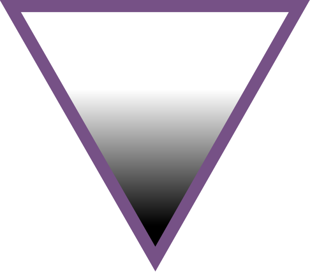 asexual symbol AVEN triangle